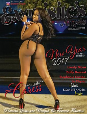 2017 New Year Black Issue #Caress