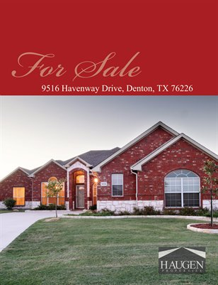 Haugen Properties - 9516 Havenway Drive, Denton, Texas 76226