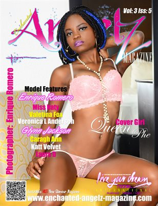 ENCHANTED ANGELZ MAGAZINE - Cover Girl Queen Phe - November 2016