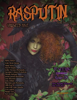 Rasputin Magazine Halloween Issue October 2014