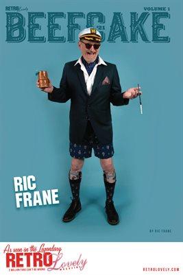 BEEFCAKE '21 Vol.1 – Ric Frane Cover Poster