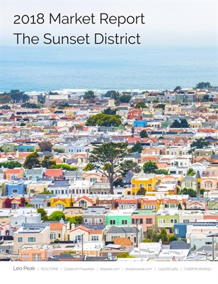 2018 San Francisco Sunset District Real Estate Report