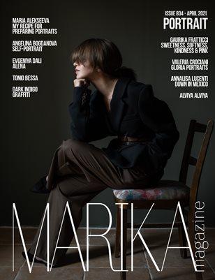 MARIKA MAGAZINE PORTRAIT (ISSUE 834 - APRIL)