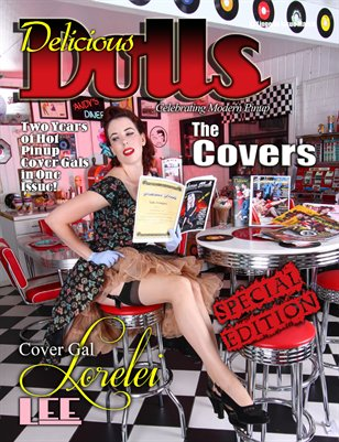 Delicious Dolls September 2013 Commemorative Covers Only Issue - Lorelei Lee Cover