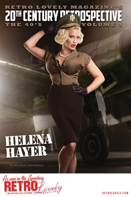 20th Century Retrospective – The 40's - Helena Hayer Cover Poster