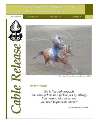 September 2011, Cable Release, Vol. 53, No. 1