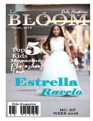 Le Bloom Kids Magazine Estrella Ravelo