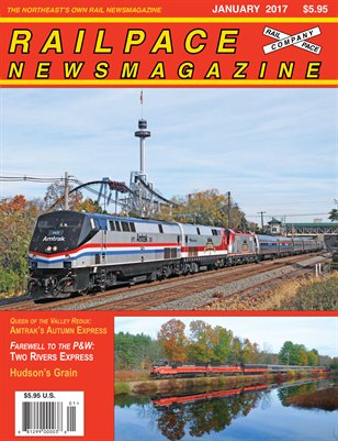JANUARY 2017 Railpace Newsmagazine