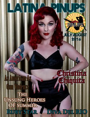 Latina PinUps Magazine July  August 2016