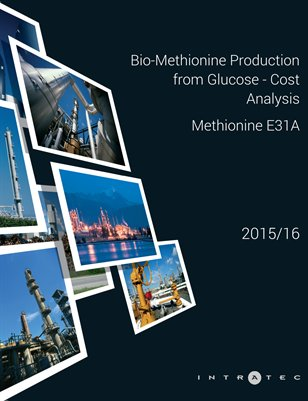 Bio-Methionine Production from Glucose - Cost Analysis - Methionine E31A