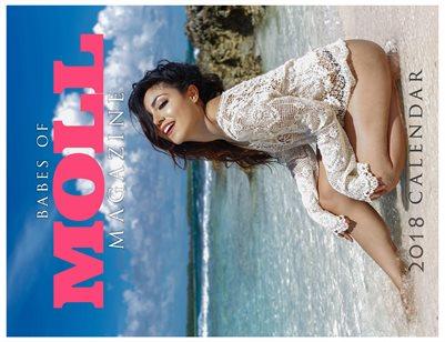 Babes of MOLL Magazine 2018 Calendar