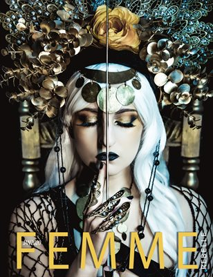 Femme Rebelle Magazine JANUARY 2020 - Wicked Vision Cover