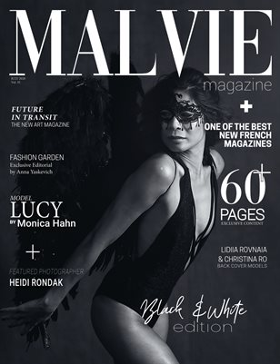 MALVIE Mag Black & White Edition Vol. 35 JULY 2020