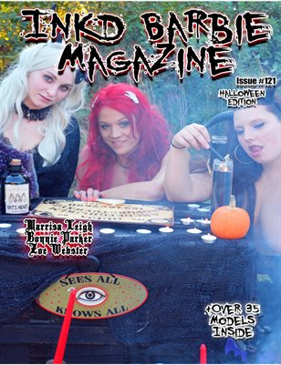 Inkd Barbie Magazine Issue #121 - Marrisa Leigh , Bonnie Parker, Zoe Webster