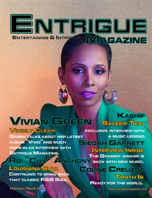 Entrigue Magazine February/March 2016 (Cover2)