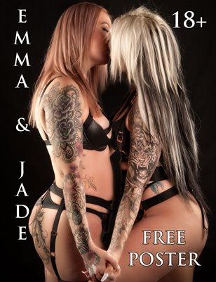 Emma & Jade - Lesbian Aussie Lovers | Bad Girls Club Magazine