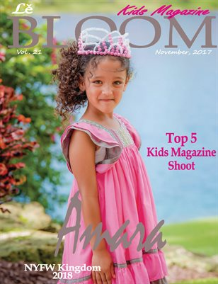 Le bloom kids magazine Amara