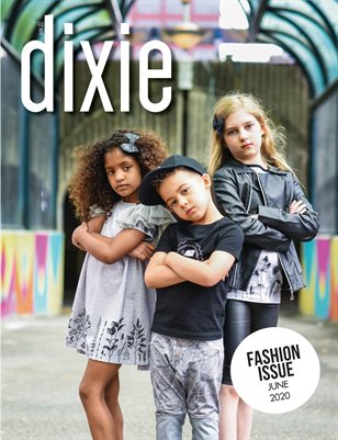 The Fashion Issue 2020 - Dixie Magazine (Cover 1)