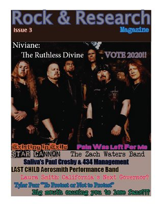 Rock & Research Magazine Issue3