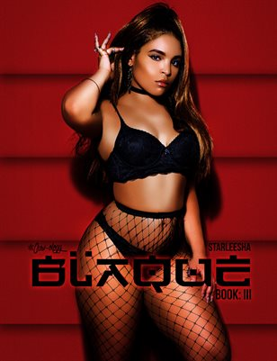 BLAQUE: BOOK 3 (STARLEESHA COVER)
