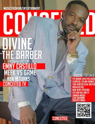 Conceited Magazine Featuring Divine the Barber