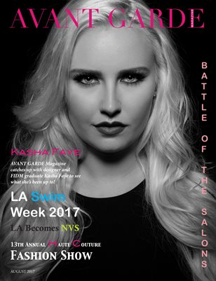 AVANT GARDE Magazine August Issue 2017