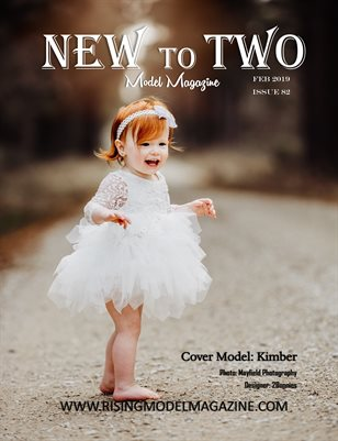 New To Two Model Magazine Issue #82
