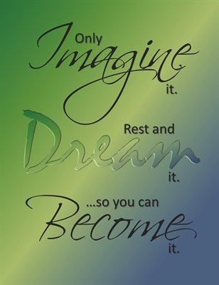 Imagine and Become: BlueGreen