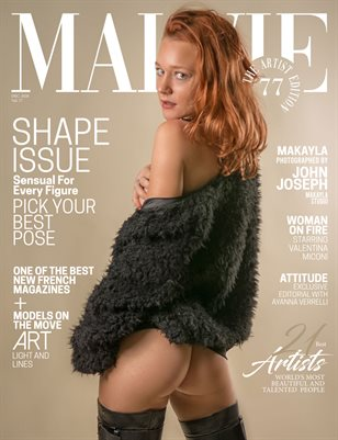 MALVIE Mag The Artist Edition Vol 77 December 2020