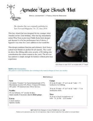 Annalee Hat