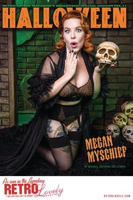 Halloween 2021 Vol.11 – Megan Myschief Cover Poster