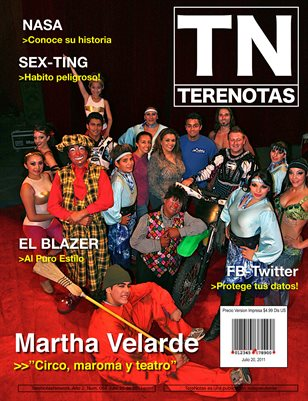 Martha Velarde... Circo, maroma y teatro