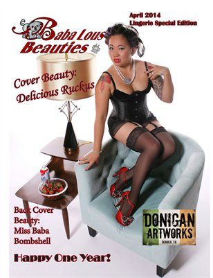 Baba Lous Beauties Lingerie Special Edition- HAPPY ONE YEAR