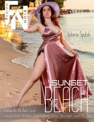 Fuzion Noir: Valerie Spalek 6yr Anniversary Vol.5 Cover2