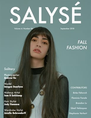 SALYSÉ Magazine | Vol 4 : No 86 | September 2018
