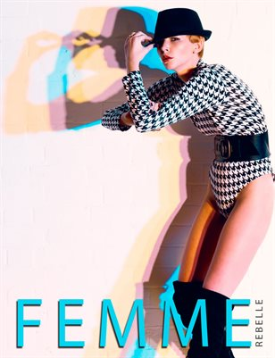 Femme Rebelle Magazine DECEMBER 2017 - BOOK 2 - Rob Hall Cover
