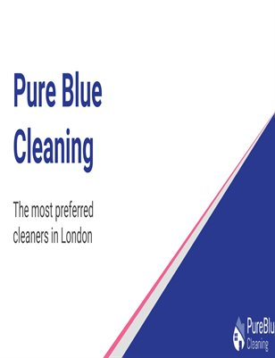 Pure Blue Cleaning Presentation