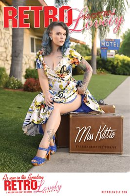 MOTEL Special Edition Miss Kittie Cover Poster