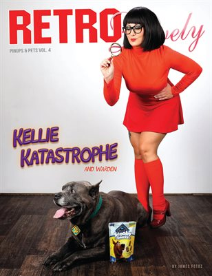 Pinups and Pets Volume No.4 – Kellie Katastrophe and Warden Cover