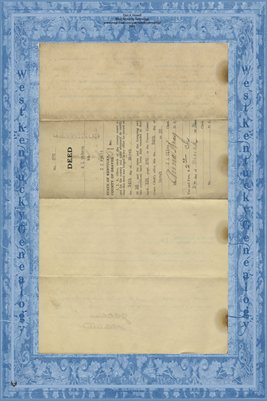 (PAGES 1-2) 1932 Deed, Albert Lucian Gibson to C.C. Wyatt, Graves County, Kentucky