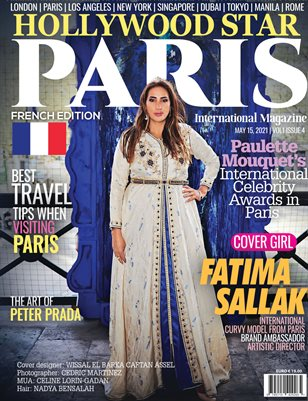 Hollywood Stars in Paris On the Cover Fatima Sallack