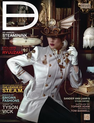 Dark Beauty Magazine - ISSUE 11.5 - Steampunk '12