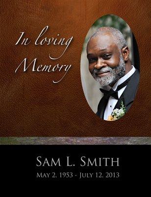 Sam Smith Obituary