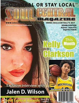 Soul Central Magazine Edition 73 Kelly Clarkson
