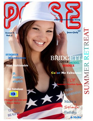 POSE child modeling mag Issue #4 Summer Retreat