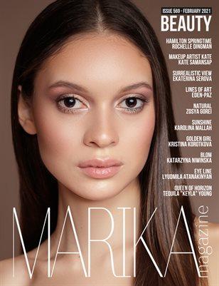 MARIKA MAGAZINE BEAUTY (ISSUE 569 - February)