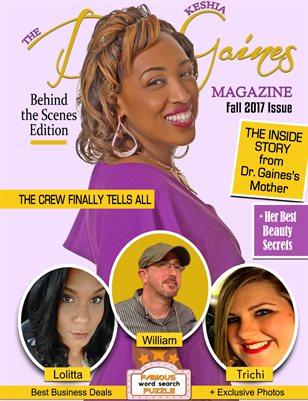 The Dr. Keshia Gaines Magazine - Fall 2017