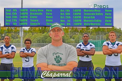 Chaparral Puma Season