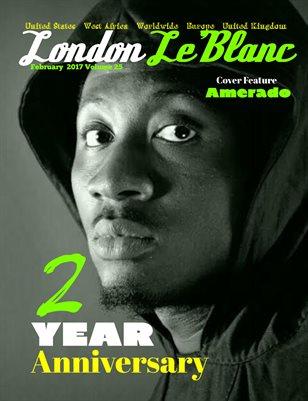 London Le'Blanc Magazine Vol.25-Amerado