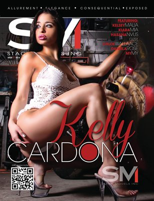 Stack Models Magazine Issue 13 Kelly Cardona Cover